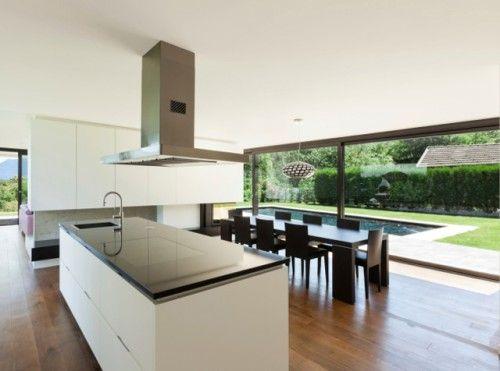 Grote open keuken google zoeken keuken uitbouw pinterest searching - Keuken open concept ...