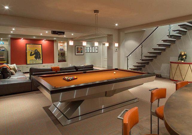 Basement Ideas. What a basement!!! #Basement