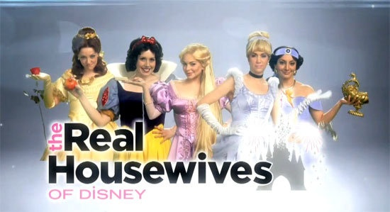 LMAO ... The Real Housewives of Disney... great sketch!