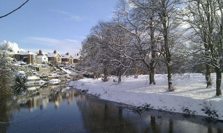 River Wansbeck, Morpeth, Northumberland