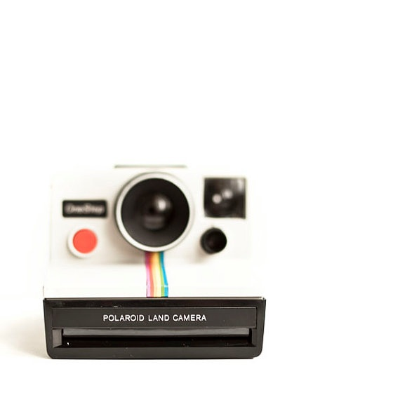 PHOTOGRAPH of a Polaroid Camera vintage Polaroid One by Raceytay, $15.00