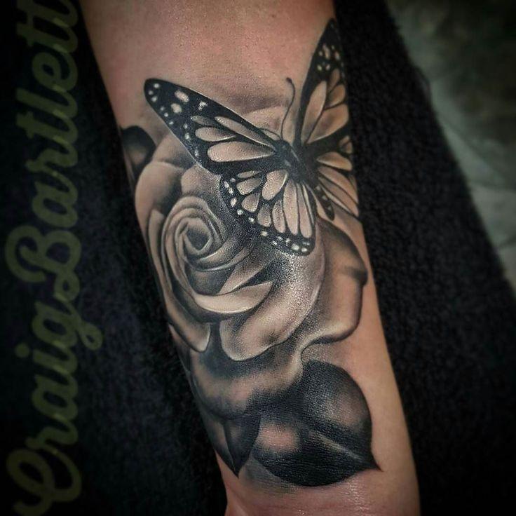 Black and gray tattoo