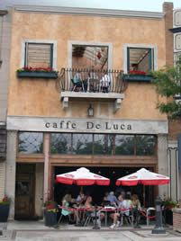 caffe DeLuca | Coffeehouse and Italian Dining in Forest Park// new favorite place.