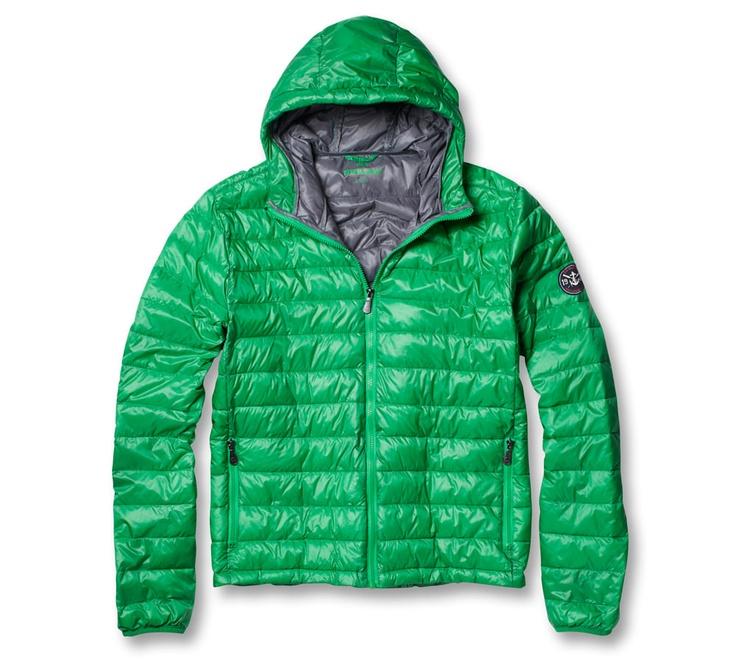 Kingfield Jacket in the lovely green