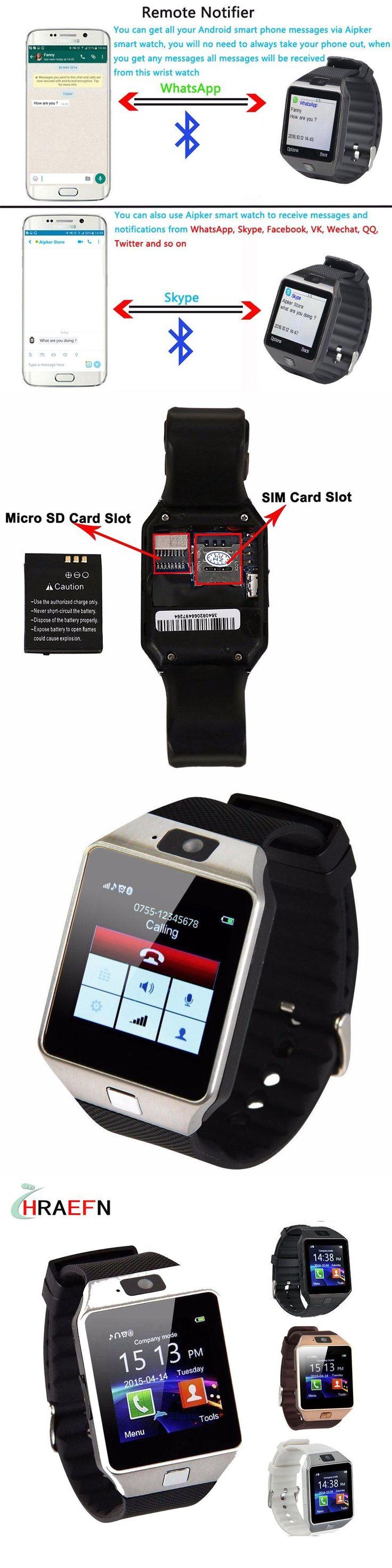 DZ09 Smart Watch fitness tracker men women sim card smartwatch for Android samsung xiaomi huawei sony IOS apple iphone PK A8 A1
