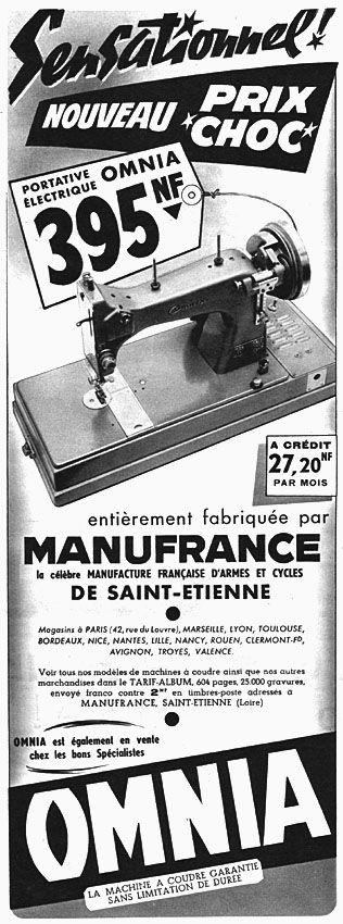 Plus de 1000 id es propos de affiches anciennes pub sur for Machine a coudre omnia