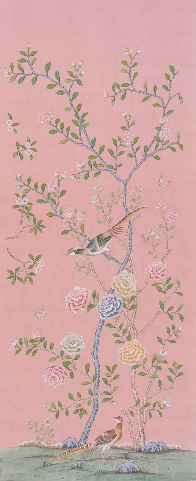 The 25 best ideas about de gournay wallpaper on pinterest for Chinoiserie design