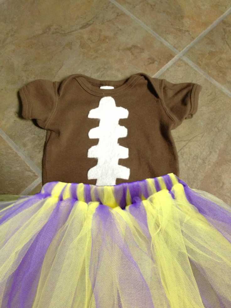 Channing's football outfit, I finished it tonight.