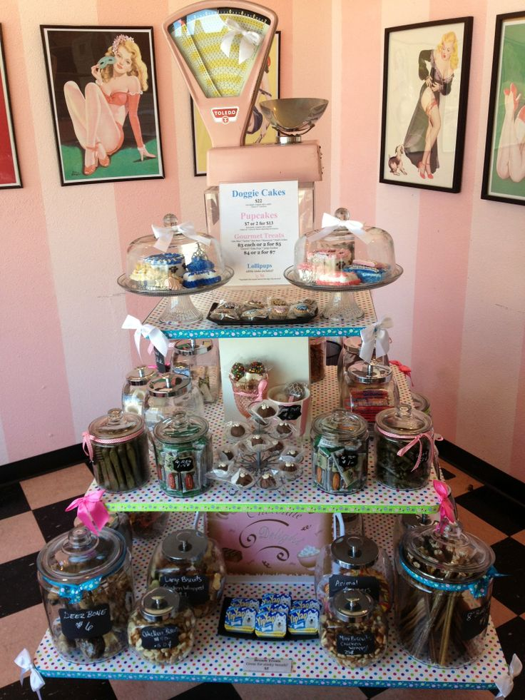Our Bow Wow Treat Bar! Bow Wow Beauty Shoppe, San Diego