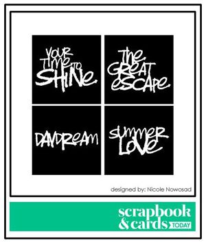free Summer Phrases cutting file - Studio, SVG and DXF files #Silhouette #CutFile