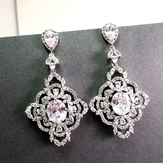 Best 25 Bridal Chandelier Earrings Ideas On Pinterest Blush Jewels And Jewelry