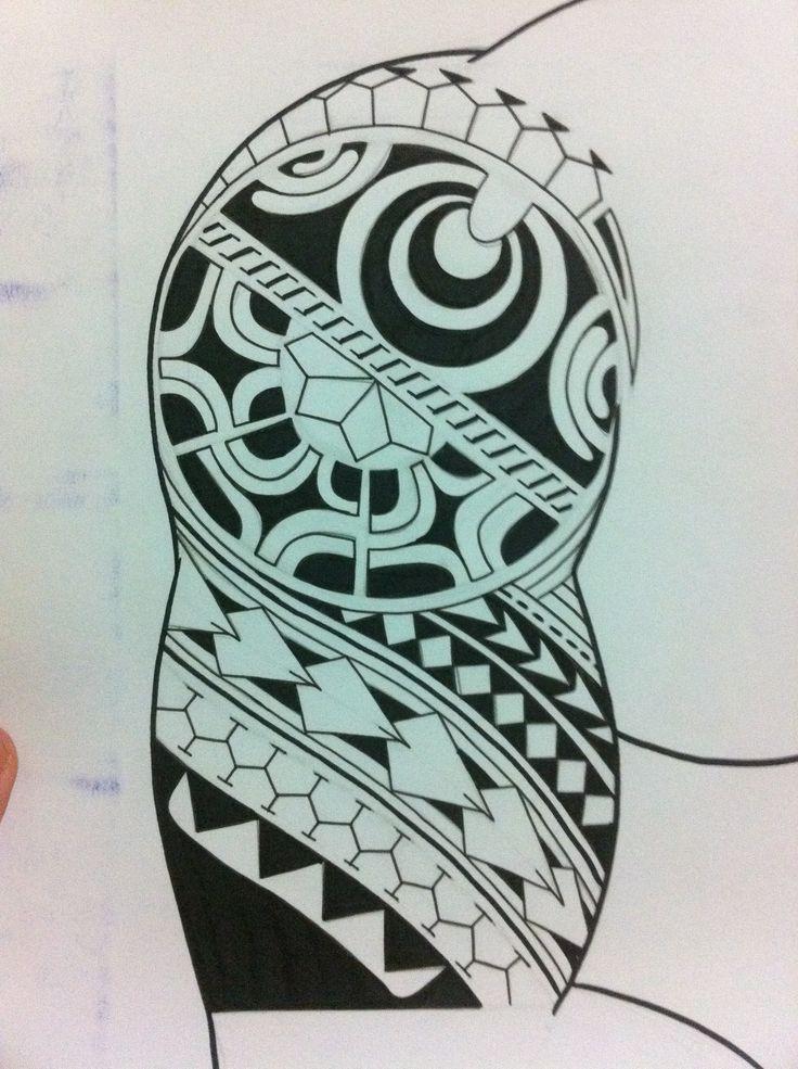 Maori tattoo design | Marquesan Tattoos | Pinterest