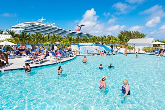 The pool at the Grand Turk Cruise Center. https://www.visittci.com/grand-turk-cruise-center