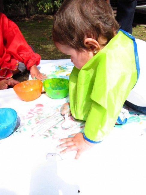 Pintura comestible como juego sensorial: 1 a 3 años | Blog de BabyCenter