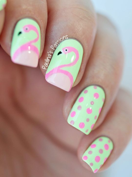 flamingo-nails-paulinas-passions @cebut