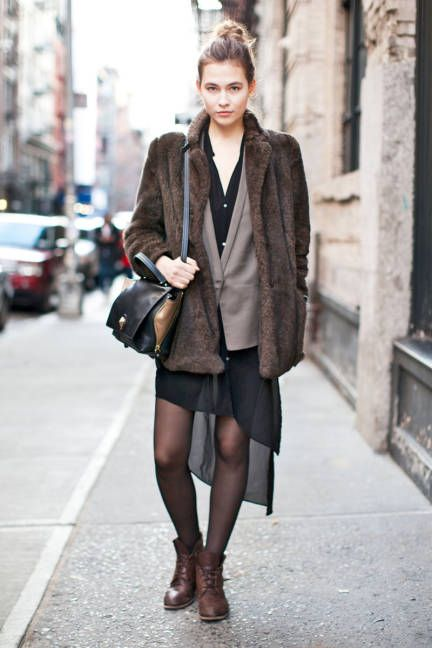 132 best images about How to combine skirts, tights and ...