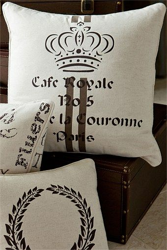 Buy Home Decor Online - Vases & Candlelight, Picture frames, Wall Art, Cushions, Throws, Window dressing, Decorative accents - Cafe Royale Cushion - EziBuy New Zealand - lounge