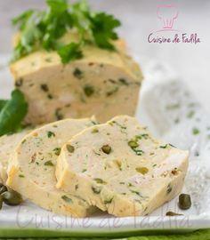 Terrine poulet pistache Une terrine facile à faire, à servir lors d'un buffet froid ou pour une entrée