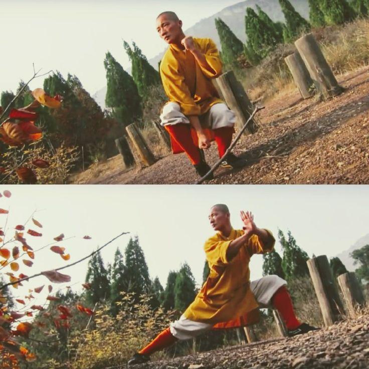 Shaolin Qi Xing Quan  Shaolin Master: Shi Yan Bo