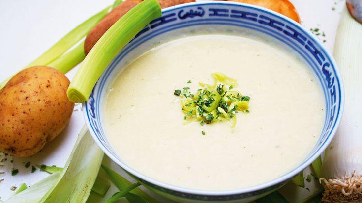 potatis- och purjolökssoppa utan grädde recept