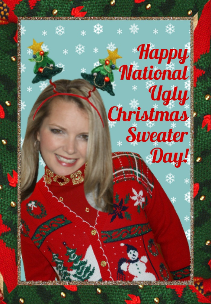 Happy National Ugly Christmas Sweater Day everyone!!! CHEER SOMEONE UP ...