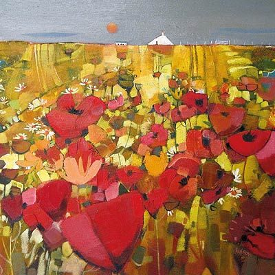 'Wild Poppy Patch, Skye' by Gordon Wilson (gw1)