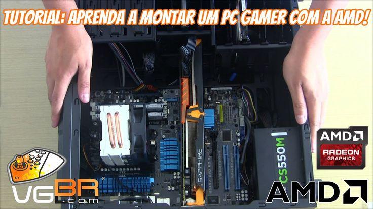 Tutorial: Aprenda a Montar um PC Gamer Passo a Passo com a AMD!