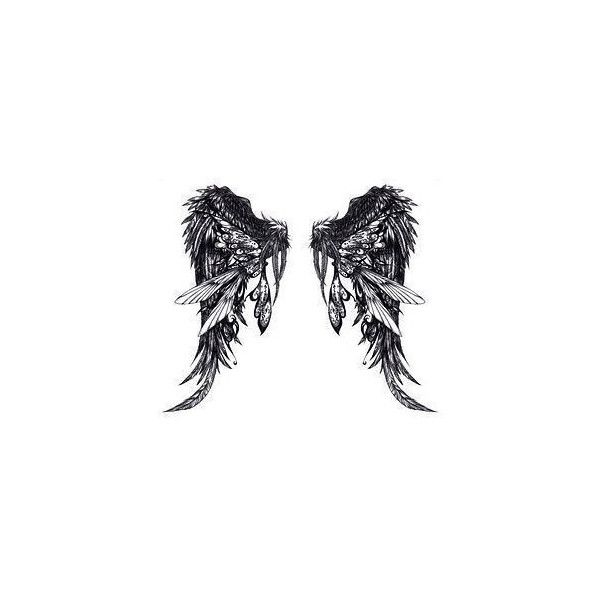 Angel Wings Pictures: Pictures of Angel Wings ❤ liked on Polyvore featuring wings, fillers, backgrounds, drawings, art, doodles, text, quotes, saying and scribble