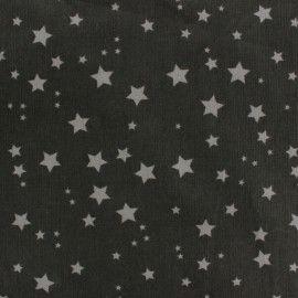 Tissu velours milleraies Voie lactée gris x 10cm