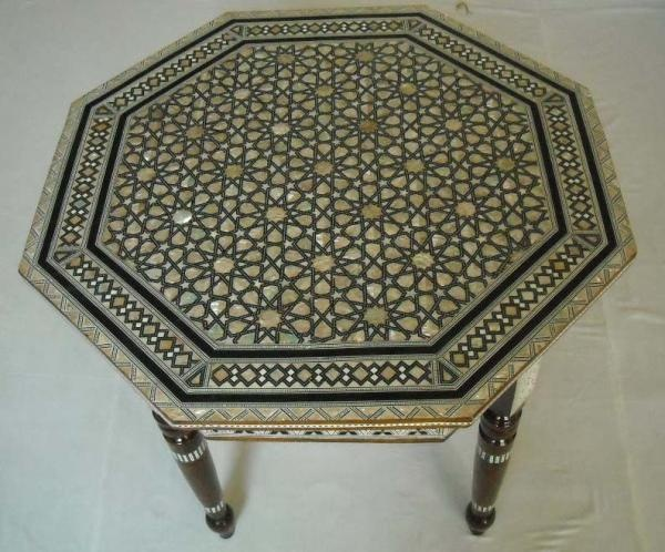Egyptian Octagonal Coffee Table Moroccan Table