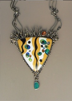 jan van diver's neckpieces