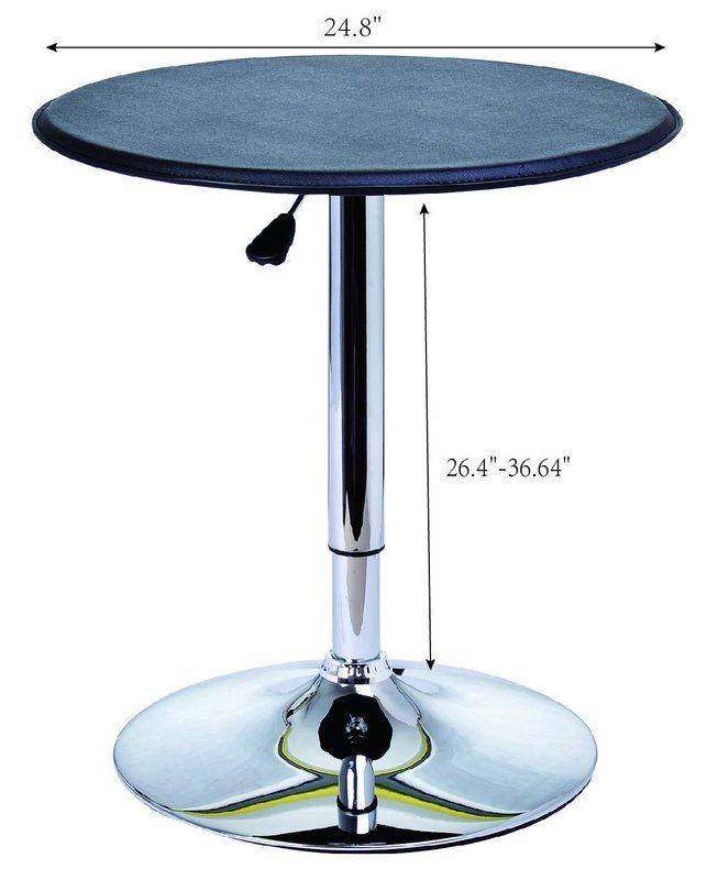 Carmody Modern Adjustable Height Pub Table 3rd Studio Pinterest