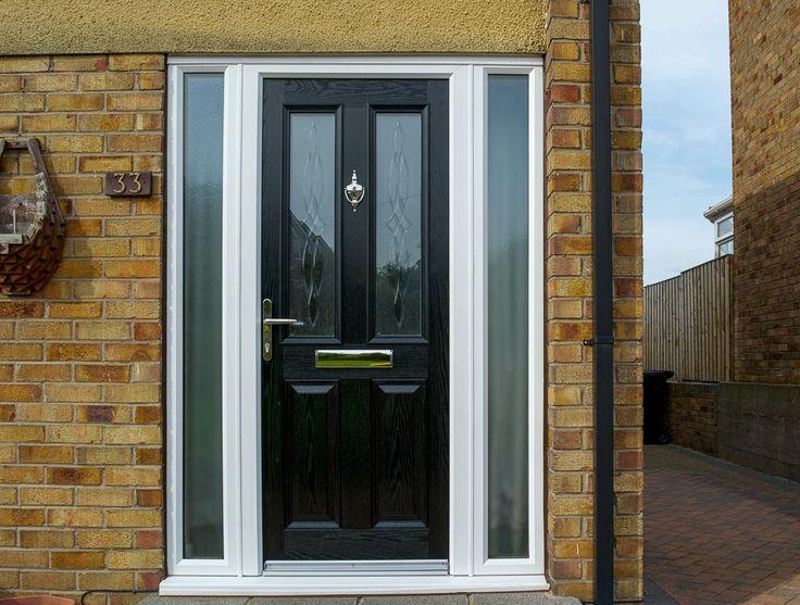 York style door with Elderton glass design.