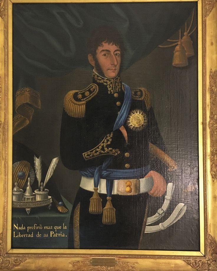 Retrato de José Gil de Castro, pintor de Libertadores