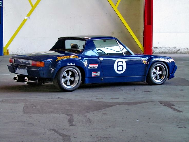 """1972 Porsche 914 - 914-6 """"R""""GT orig. 7500mls   Classic Driver Market"""