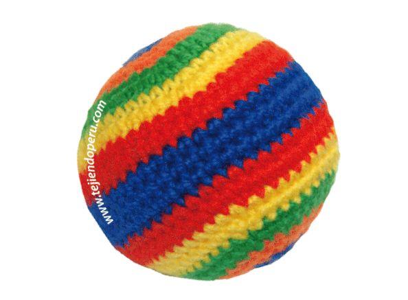 Tutorial: pelotas tejidas a crochet (amigurumi balls)