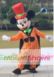 Déguisement Mascotte Mickey Mouse Halloween Adulte...