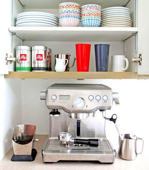 106 best mini bar ideas images on pinterest home ideas for Mini coffee bar