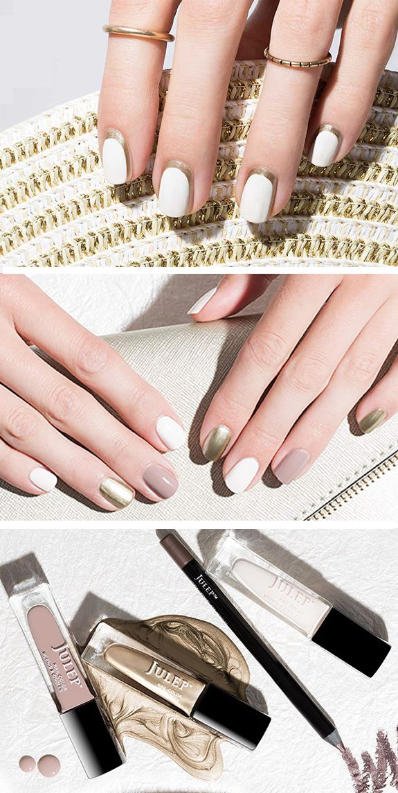 This is a perfect palette for a fall wedding!  Get these classic neutral polishes for FREE when you join Julep Maven, our beauty box subscription program. As a Maven you'll get $40 worth of gorgeous and good-for-you beauty products every month for just $24.99.Treat yourself, it's your wedding year!  To get your free box use code GIMME at checkout. Offer ends 9/30/2015.