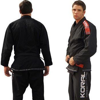 Koral Kimono/Gi Classic Black