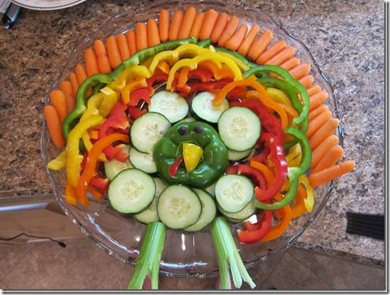 Thanksgiving Appetizer- Vegetable Turkey Platter! - We love sharing healthy and fun food items your mouth (and teeth) will love #drfisherinindy #drfisher  http://www.drfisherdental.com/