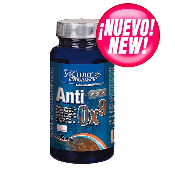 Es el caso del Anti Ox9 que nos protege frente al daño oxidativo gracias a su exclusiva fórmula integrada por 9 potentes antioxidantes