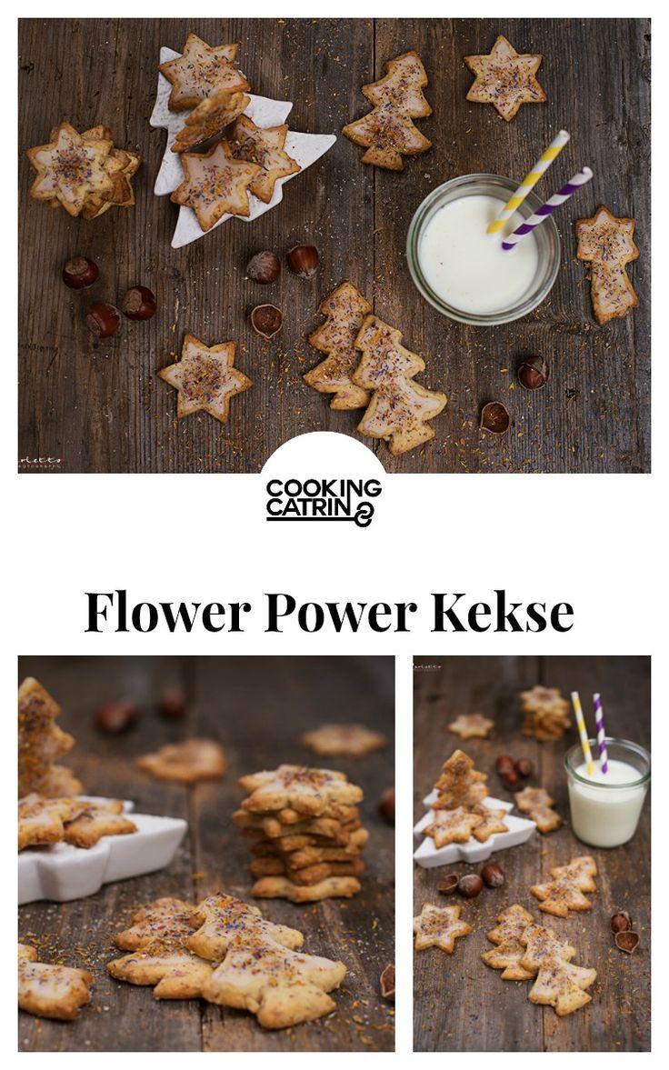 Flower Power Kekse, Weihnachtskekse, Sonnentor Gewürz, Gewürzkekse, Weihnachten, christmas, christmas cookies, flower power cookies, spiced cookies, christmas bakery...http://www.cookingcatrin.at/flower-power-kekse/