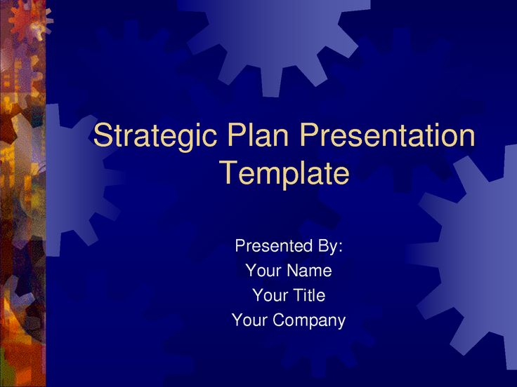 strategic plan powerpoint templatesbusiness plan