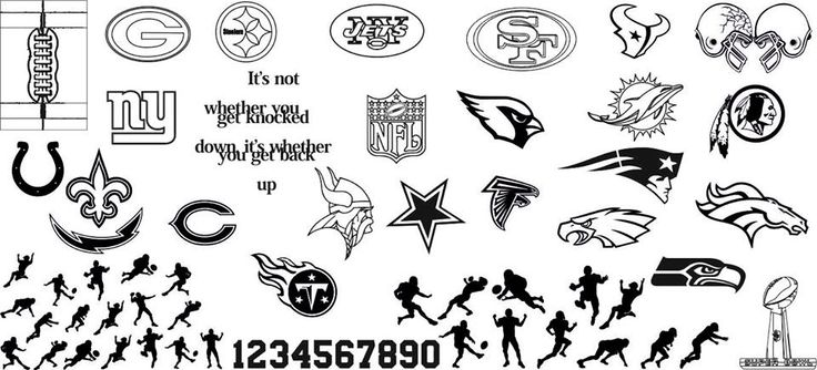 Pet'la stamping plate LE NFL football numbers packers broncos giants saints colts chargers steelers bears titans vikings cowboys jets 49's eagles seahawks touchdown