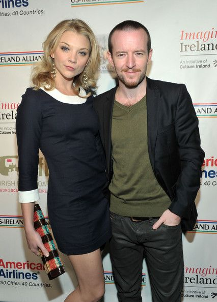 English actress, Natalie Dormer with Irish director and boyfriend Anthony Byrne...