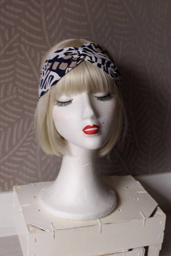 Twist headband Boho turban headband Festival headband
