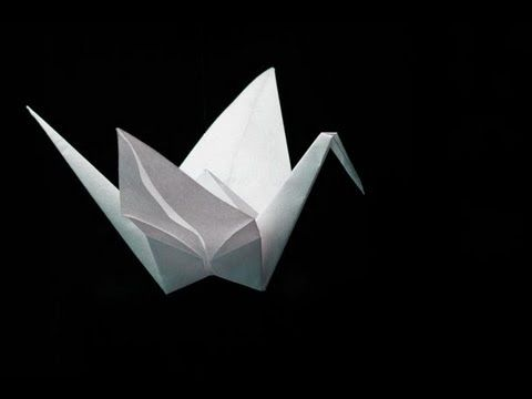Fold an Origami Crane - YouTube