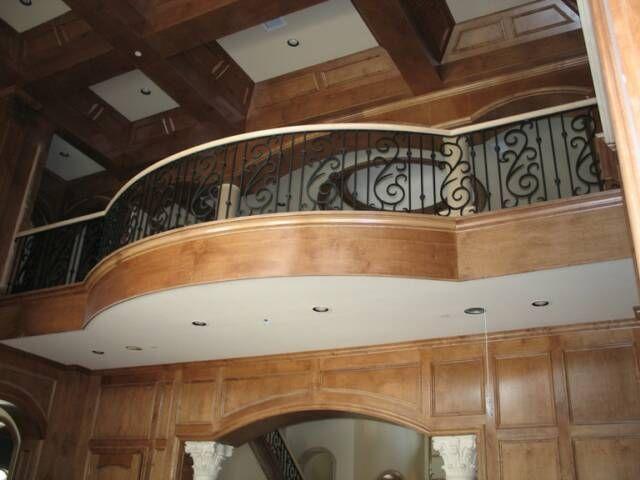 Inside balcony railing google search balusters for Inside balcony