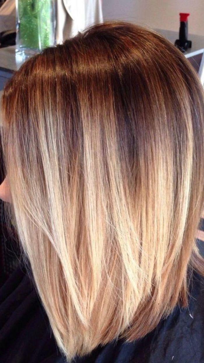 Trendige Frisuren Mderne Haarfarben Und Haarschnitte